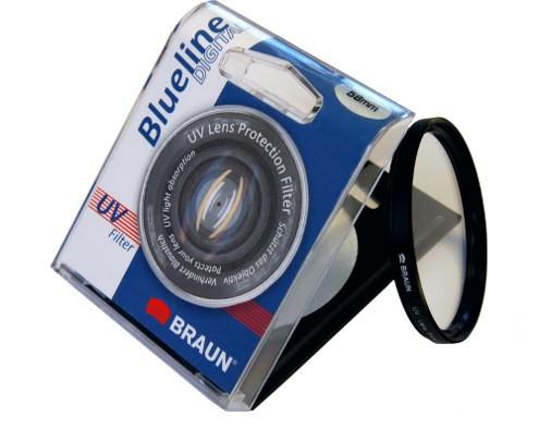 Filtr UV BRAUN Blueline 58mm