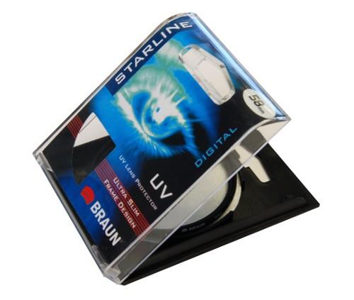 Filtr UV BRAUN Starline 58mm