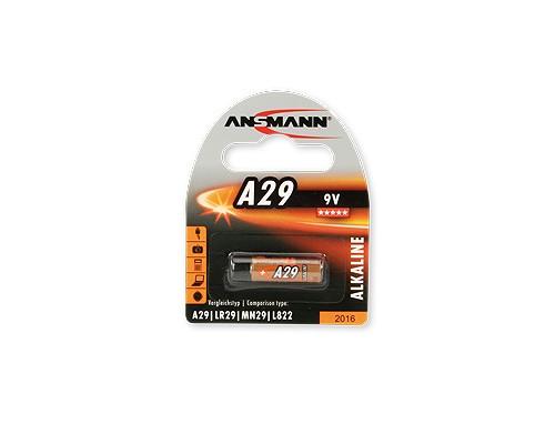 Bateria alkaliczna ANSMANN A29 / 9V