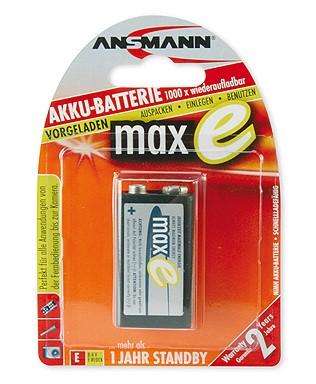 Akumulatory NiMH ANSMANN maxE 1x E 200mAh