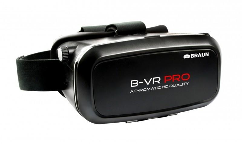 Okulary wirtualnej rzeczywistości BRAUN B-VR PRO