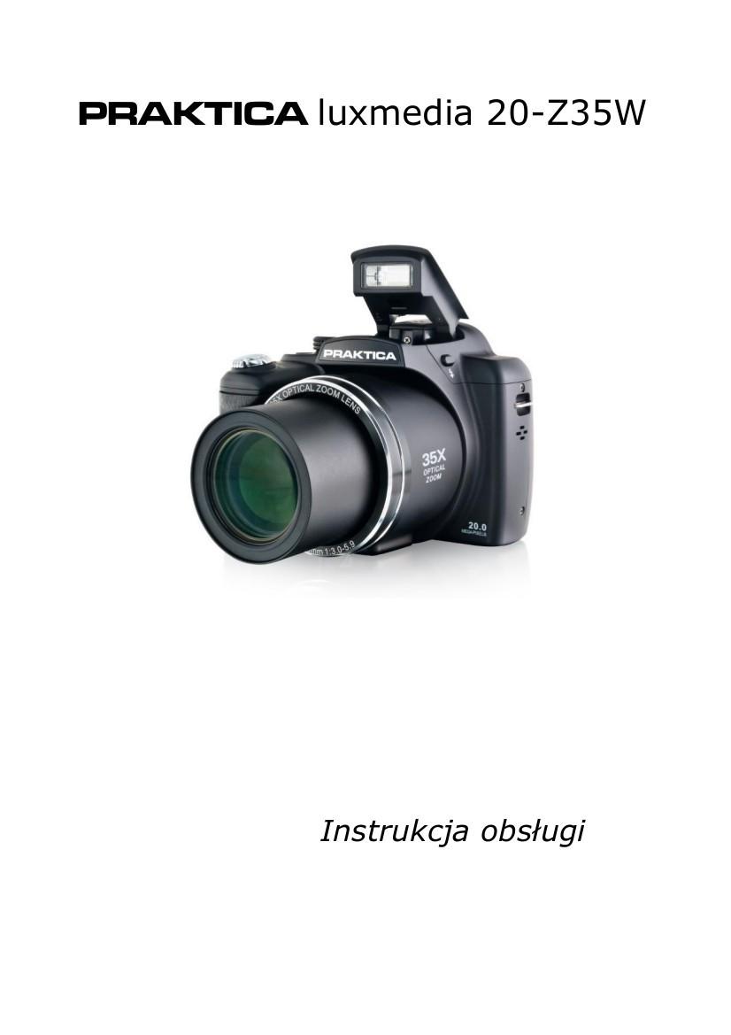 Instrukcja PRAKTICA Luxmedia 20-Z35W