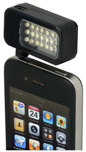 Lampa video LED reflecta RPL 21 Phone-Tab