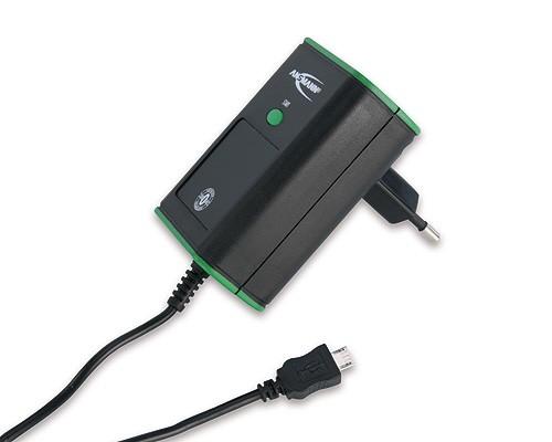 Ładowarka ANSMANN Travelcharger Micro USB ZeroWatt