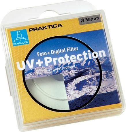 Filtr PRAKTICA UV 55mm