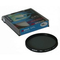Filtr CPL BRAUN Starline 58mm