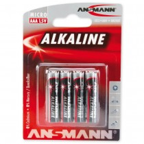 Bateria alkaliczna ANSMANN Red 4xAAA