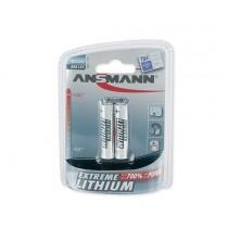 Bateria litowa ANSMANN Extreme Lithium 2xAAA