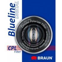 Filtr CPL BRAUN Blueline 72mm