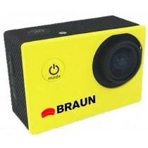 Kamera sportowa BRAUN Paxi Young żółta