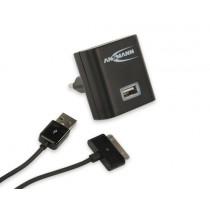 Ładowarka ANSMANN USB Charger 2.1A + kabel Apple