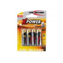 Bateria alkaliczna ANSMANN X-Power 4xAA