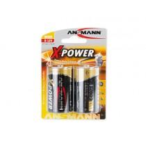 Bateria alkaliczna ANSMANN X-Power 2xD