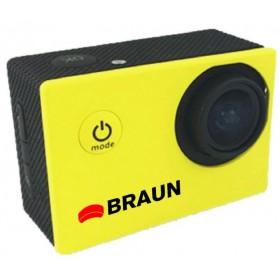 Kamera sportowa Braun Paxi Young HD żółta