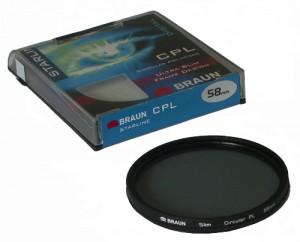 Filtr CPL BRAUN Starline 55mm