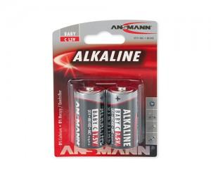 Bateria alkaliczna ANSMANN RED 2xC