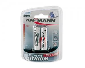 Bateria litowa ANSMANN Extreme Lithium 2xAA