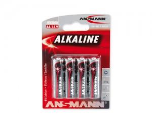 Bateria alkaliczna ANSMANN RED 4xAA