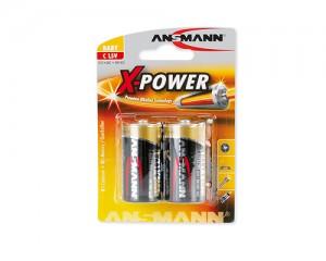 Bateria alkaliczna ANSMANN X-Power 2xC